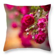 Roses Peace Throw Pillow