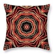 Rosette Fireburst Throw Pillow