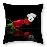 Rosey8 Throw Pillow