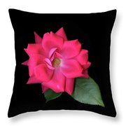 Rosie Posie Throw Pillow