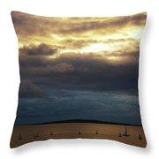 Rosses Point Co Sligo Ireland Throw Pillow