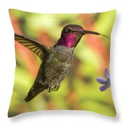 Rosy Cheeks Throw Pillow