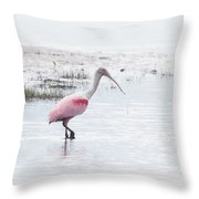 Rosy Dream Throw Pillow