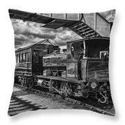 Rosyth No 1 At Furnace Sidings Mono Throw Pillow