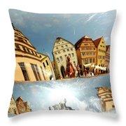 Rotenburg In A Tuba Throw Pillow