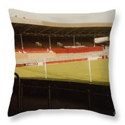 Rotherham - Millmoor - Main Stand 2 - 1970s Throw Pillow