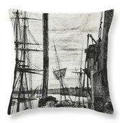 Rotherhithe Throw Pillow