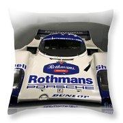 Rothmans Porche Throw Pillow