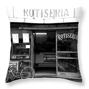 Rotiseria Throw Pillow