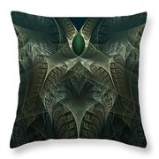 rotl_02 Lord Of the Swamp Throw Pillow