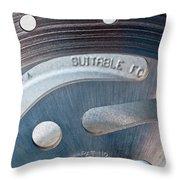 Rotor Throw Pillow