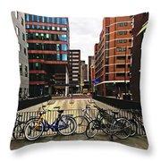 Rotterdam Architecture Throw Pillow