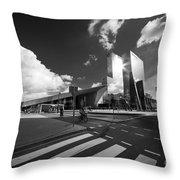 Rotterdam Centraal  Throw Pillow