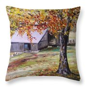Rouge Red Chimney Throw Pillow
