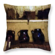 Rough And Rustic Throw Pillow