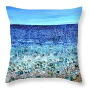 Rough Sands Throw Pillow