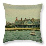 Nantucket Seas   Throw Pillow