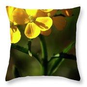 Rough Wallflower  -  60618-122 Throw Pillow