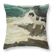 Roughsea Throw Pillow
