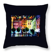 Rouin France Throw Pillow