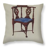 Roundabout Chair Throw Pillow