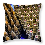 Rounds For Rounds Throw Pillow