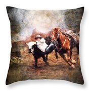 Roundup Throw Pillow