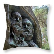 Rousseau And Millet Throw Pillow