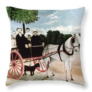 Rousseau: Cart, 1908 Throw Pillow