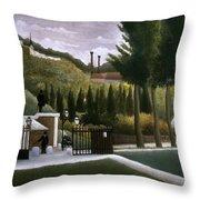 Rousseau: House, C1900 Throw Pillow