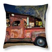 Route 66-61 Throw Pillow