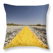 Route 66-74 Throw Pillow