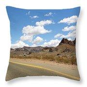 Route 66 - Arizona Throw Pillow