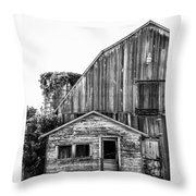 Route 66 Barn 1 Throw Pillow