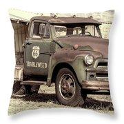 Route 66 Chevy Tumbleweed - #3 Throw Pillow