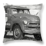 Route 66 Chevy Tumbleweed - #5 Throw Pillow