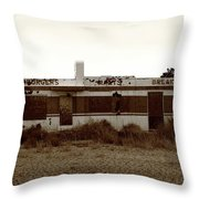 Route 66 Diner 7 Throw Pillow