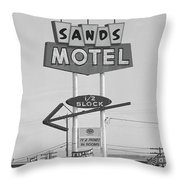 Route 66 - Grants New Mexico Throw Pillow