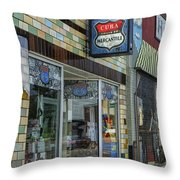 Route 66 Mercantile Cuba Mo Dsc05597 Throw Pillow