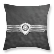 Monotone Dodge Throw Pillow