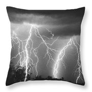 Route 666-signed Throw Pillow