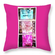 Route 91 Harvest Festival Memorial 21, A Child's Grief Throw Pillow