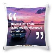 Routine Throw Pillow