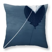 Row Row Row Your Boat Life Is But A Dream Throw Pillow