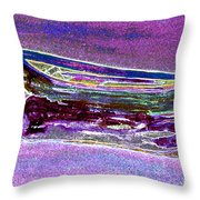 Rowboat Fluorescence 3 Throw Pillow