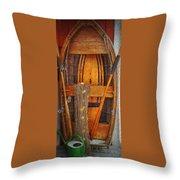 Rowboat Sandhamn Throw Pillow