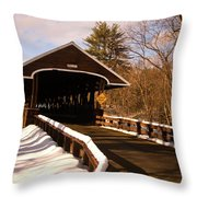 Rowell Bridge Throw Pillow