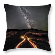 Rowena Milky Way Throw Pillow