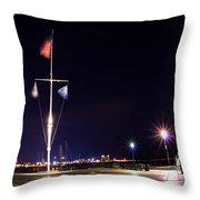 Rowe's Wharf 2635 Throw Pillow