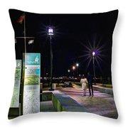 Rowe's Wharf 2636 Throw Pillow